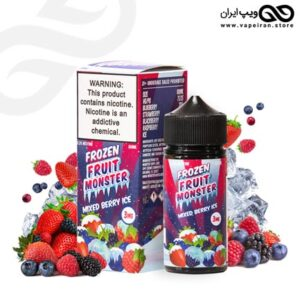 ایجوس بلوبری تمشک یخی Frozen Fruit Monster Mixed Berry Ice